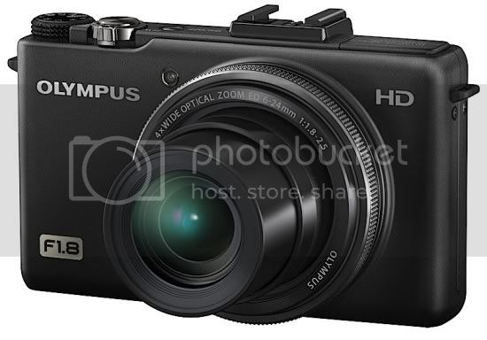Olympus XZ-1 10 MP Digital Camera with f1.8 Lens and 3-Inch OLED Monitor