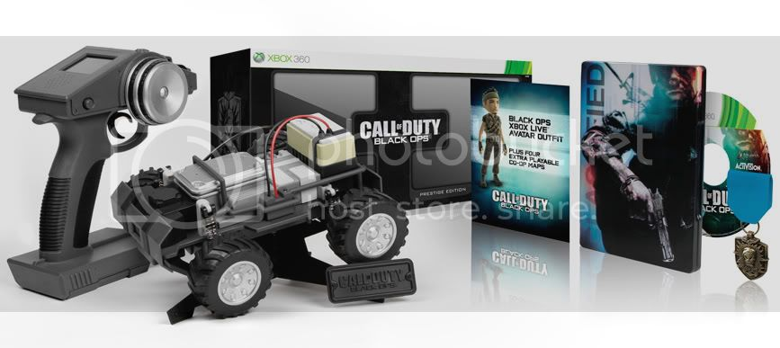 Call of Duty Black Ops Prestige Edition ships with full-blown RC spy vehicle