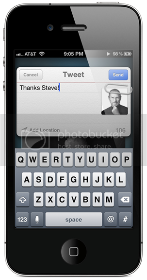 FastTweet  Lets You Send Tweets From Anywhere In iOS 5