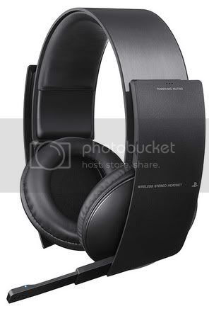 Sony Announces Official Wireless Headset For PlayStation 3 With 7.1 Virtual Surround, Voice Chat, Retractable Mic