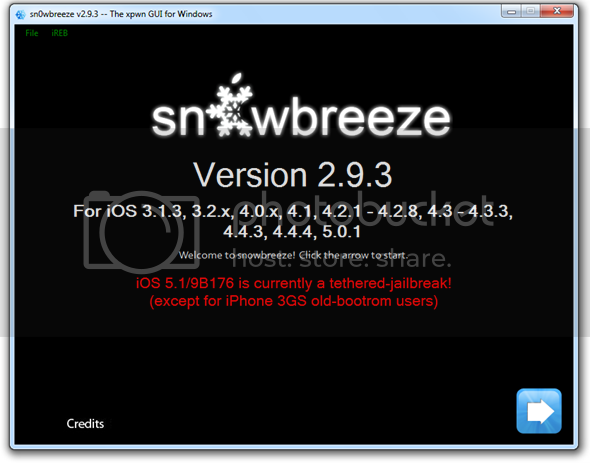 Sn0wbreeze Updated To v2.9.3 For iOS 5.1 Jailbreak
