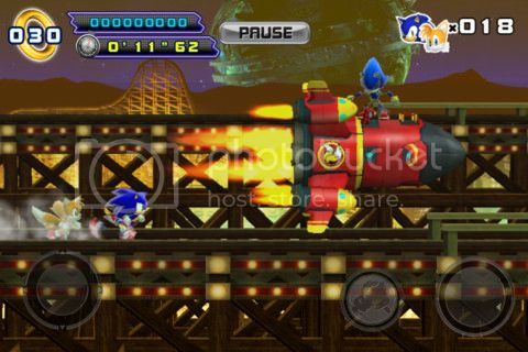 Sonic The Hedgehog 4: Episode II for iPhone, iPad and iPod touch