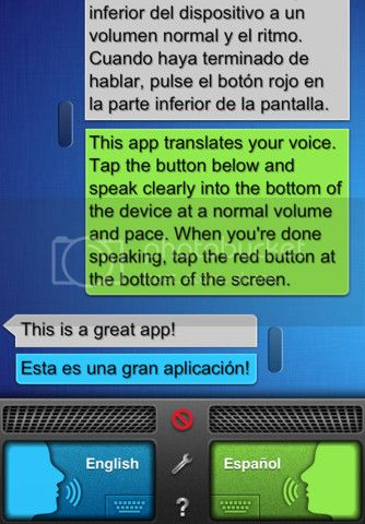 SayHi Translate Use Your Voice to Speak a New Language like a Pro for iPhone and iPad