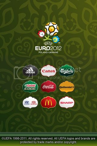 Official UEFA EURO 2012 App For iPhone And Android Now Available