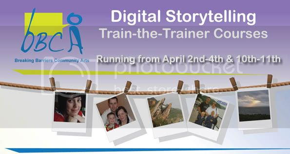 Digital storytelling  Train the Trainer courses